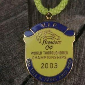 Jewelry - Breeders' Cup Oak Tree Santa Anita Pin Badge 2003